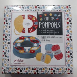 KIT POMPONES PHILDAR